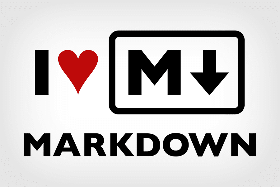i love markdown