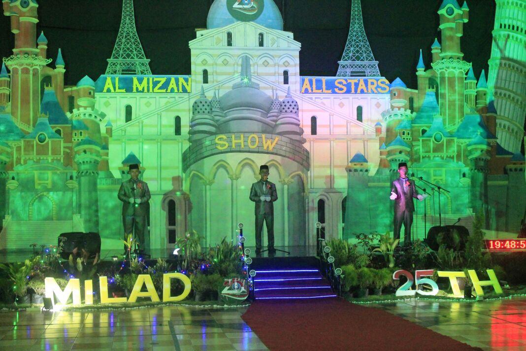 Al-Mizan All Stars Show Peringatan Milad 25 Tahun Al-Mizan