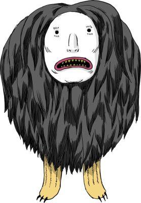 Kanatsistontie (Iroquois flying head)