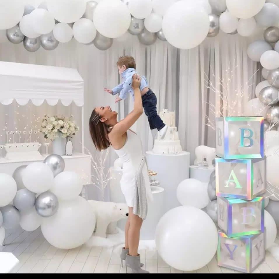 Fiesta blanca de bebe