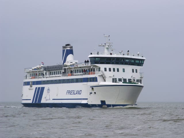 Ferry from Terschelling to Vlieland