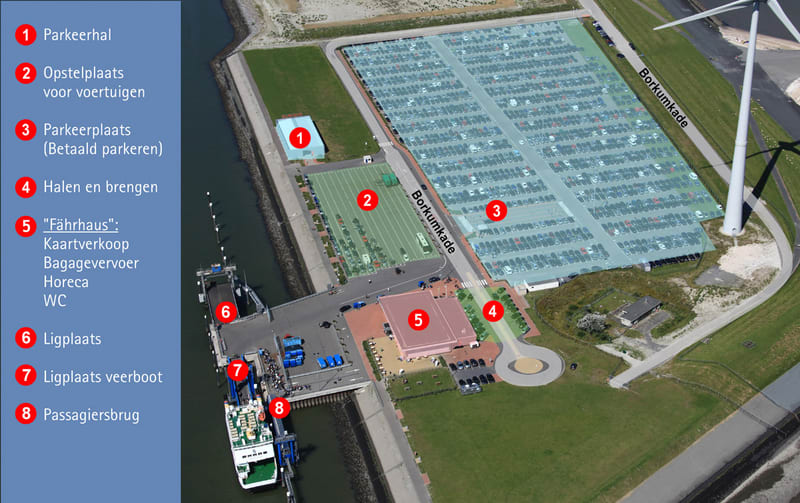Parking in Eemshaven