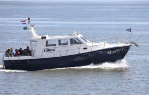 The water taxi Texel brings you to Texel within 20 minutes