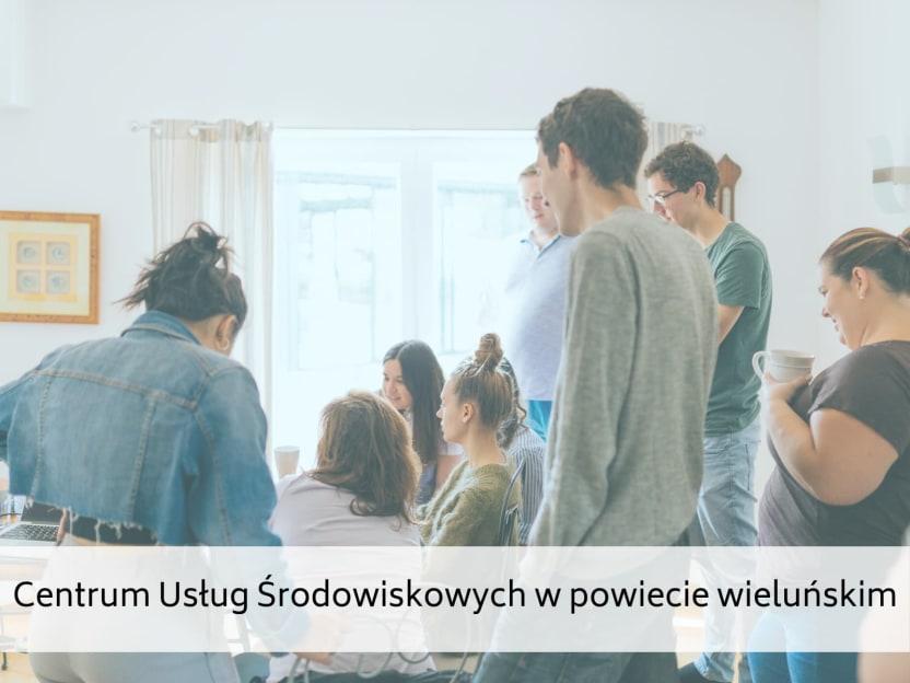 Centrum Usług Środowiskowych w powiecie wieluńskim