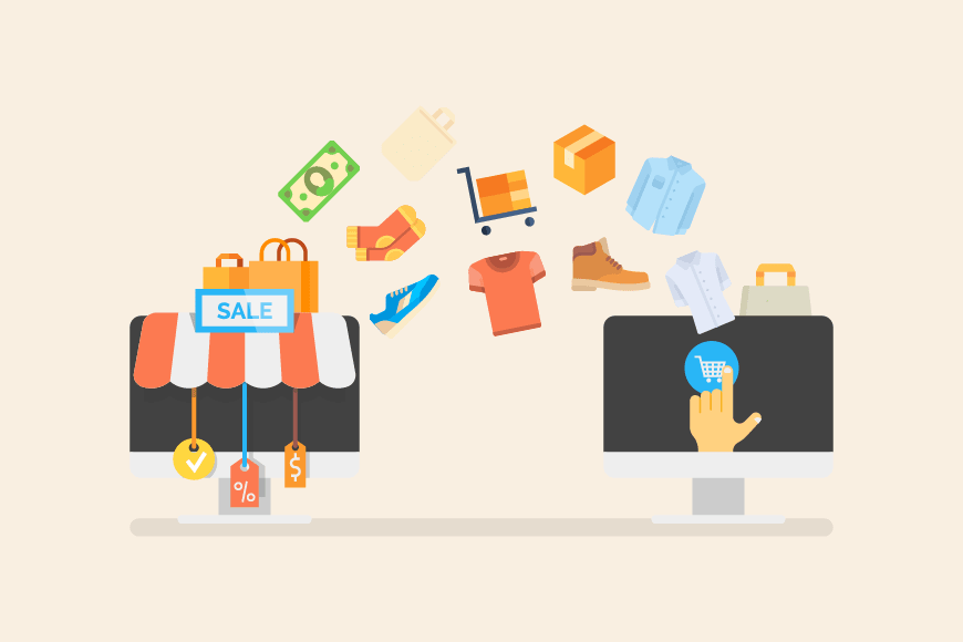 e-commerce in dropshipping