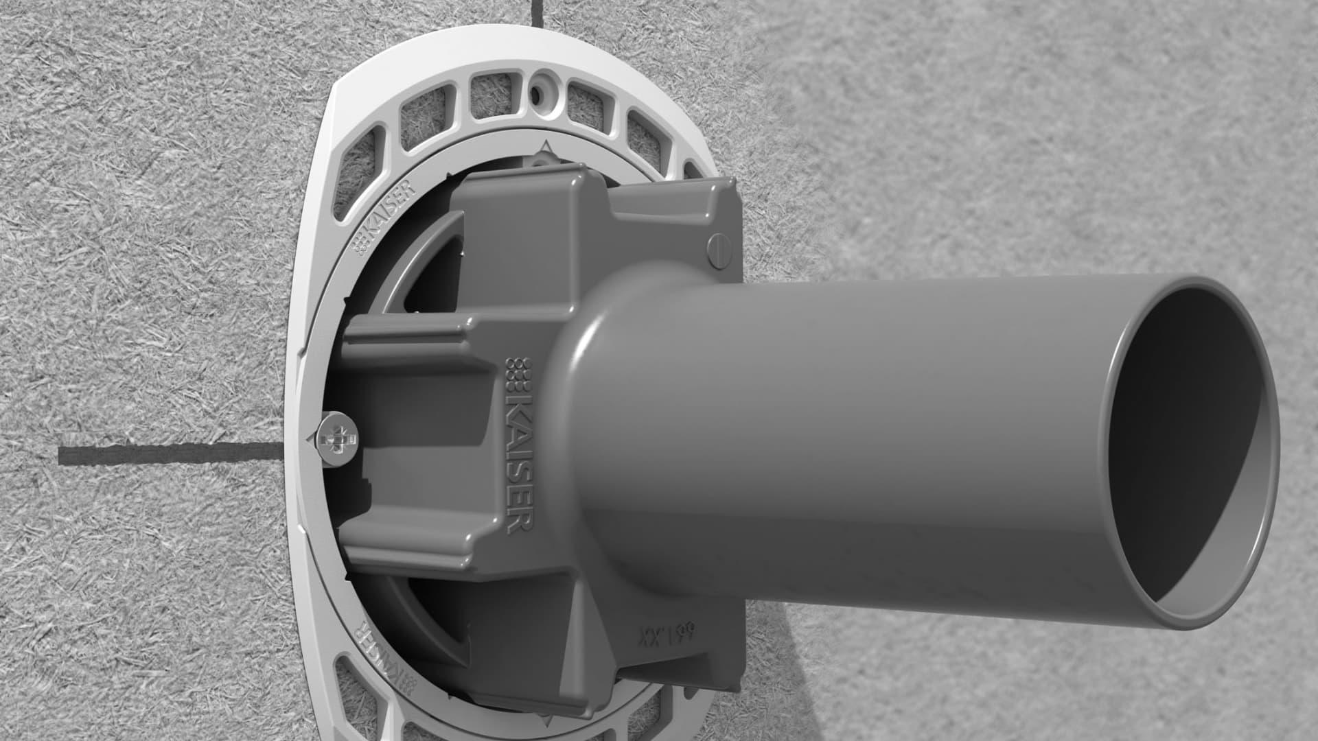 Kaiser: Erste Installationsdose für Holzfaser-Dämmplatten