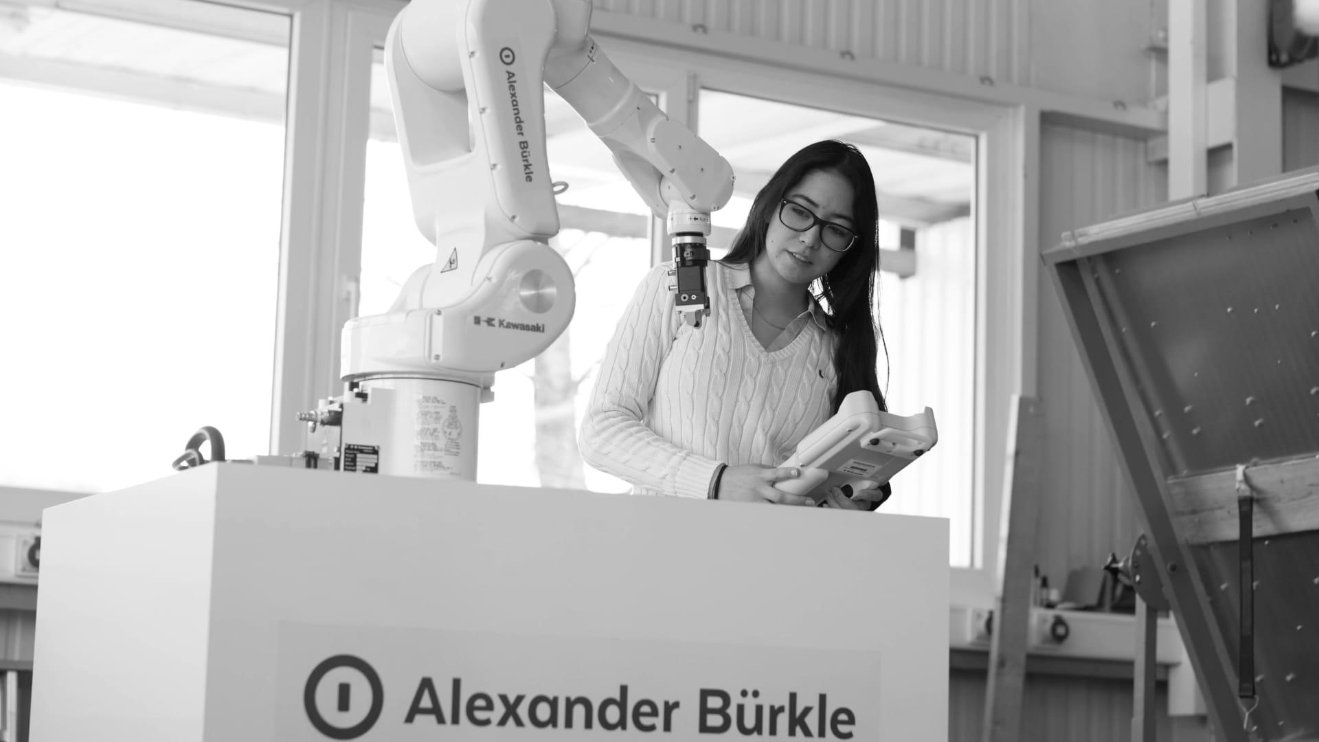 Robotertechnik mit Alexander Bürkle