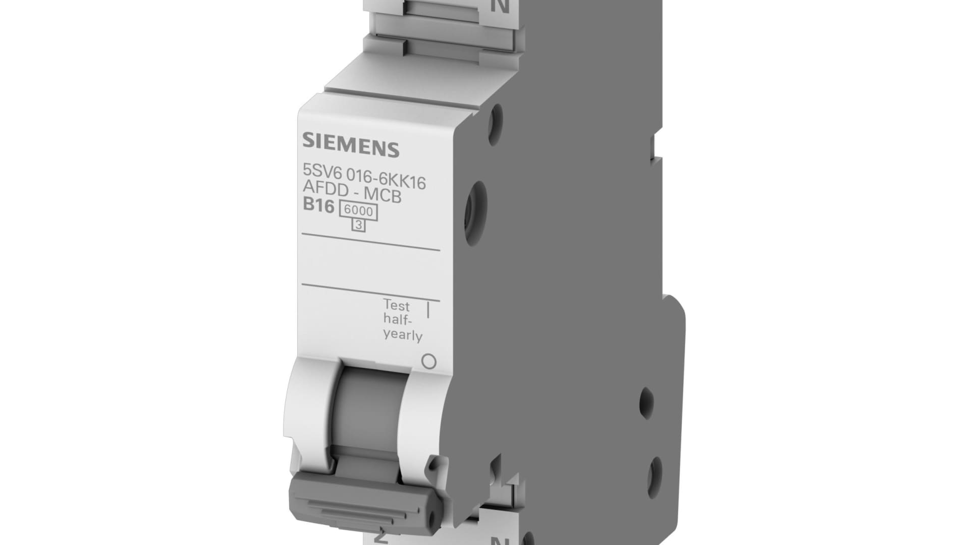 Siemens: AFDD mit integriertem Leitungsschutz