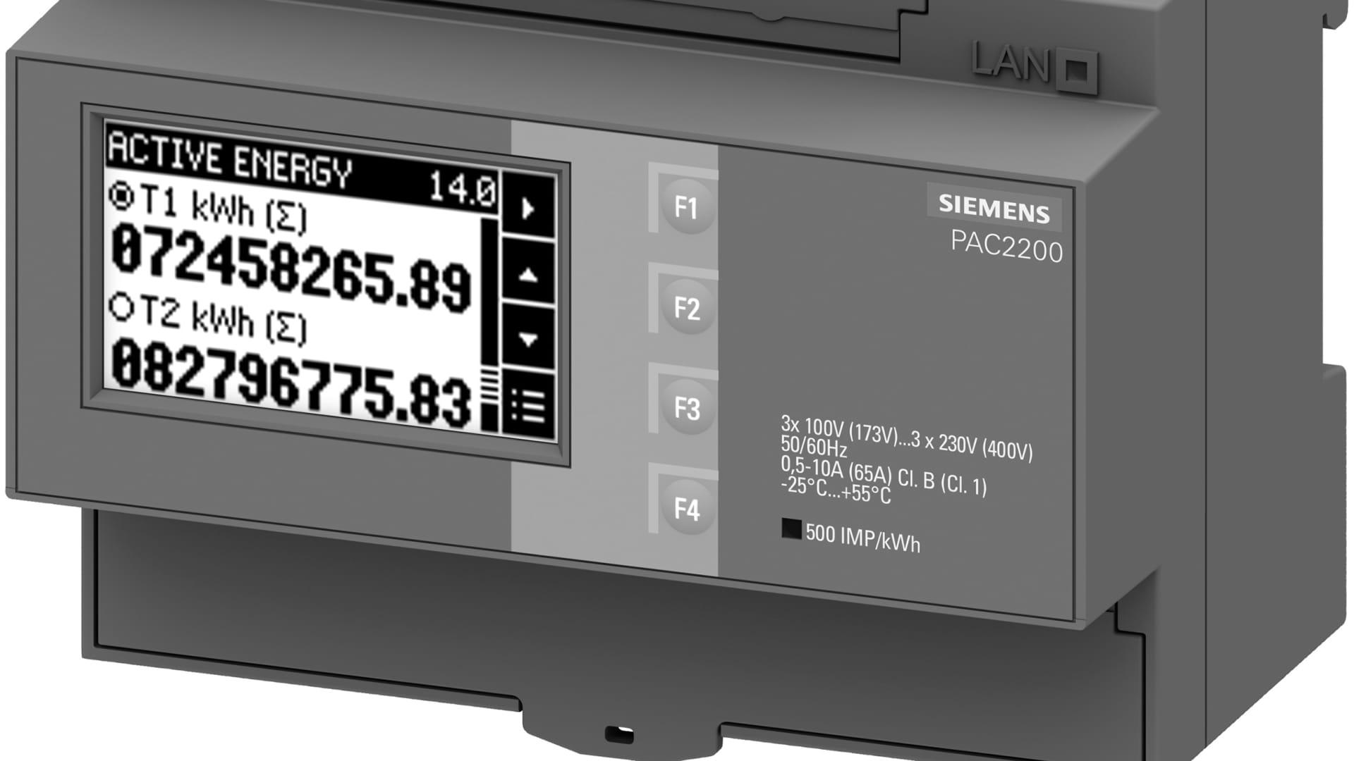 Neue Messgeräte 7 KM PAC2200 und 7KM PAC3200T aus dem SENTRON-Portfolio