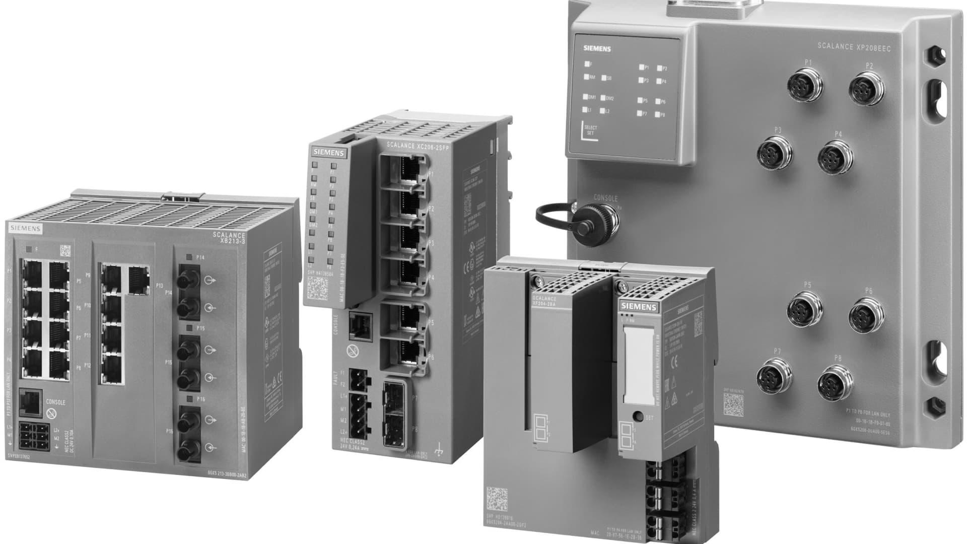 SCALANCE X-200 - Managed Industrial Ethernet Switches für das Feld