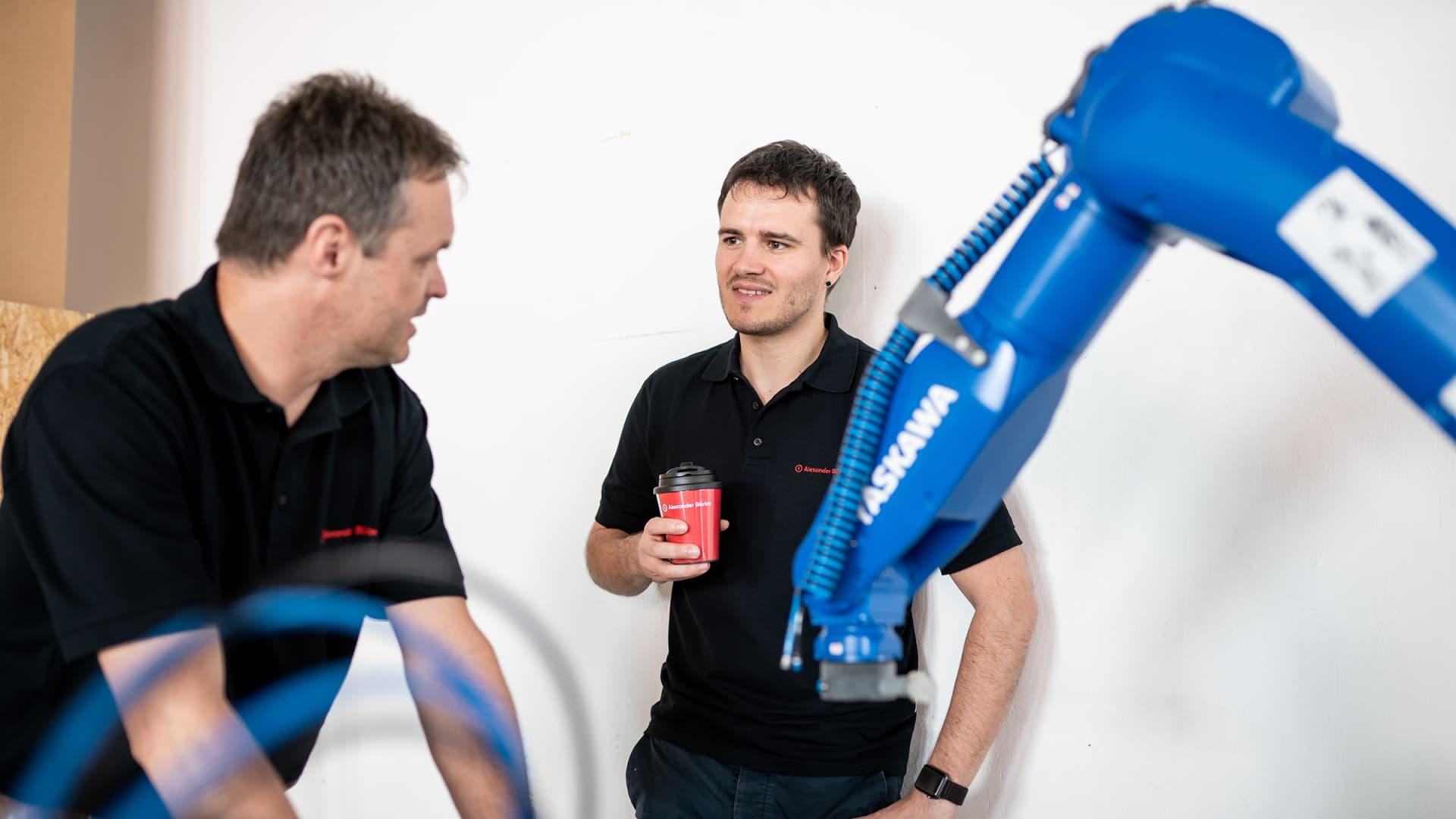 Arbeiten - Alexander Bürkle robotic solutions