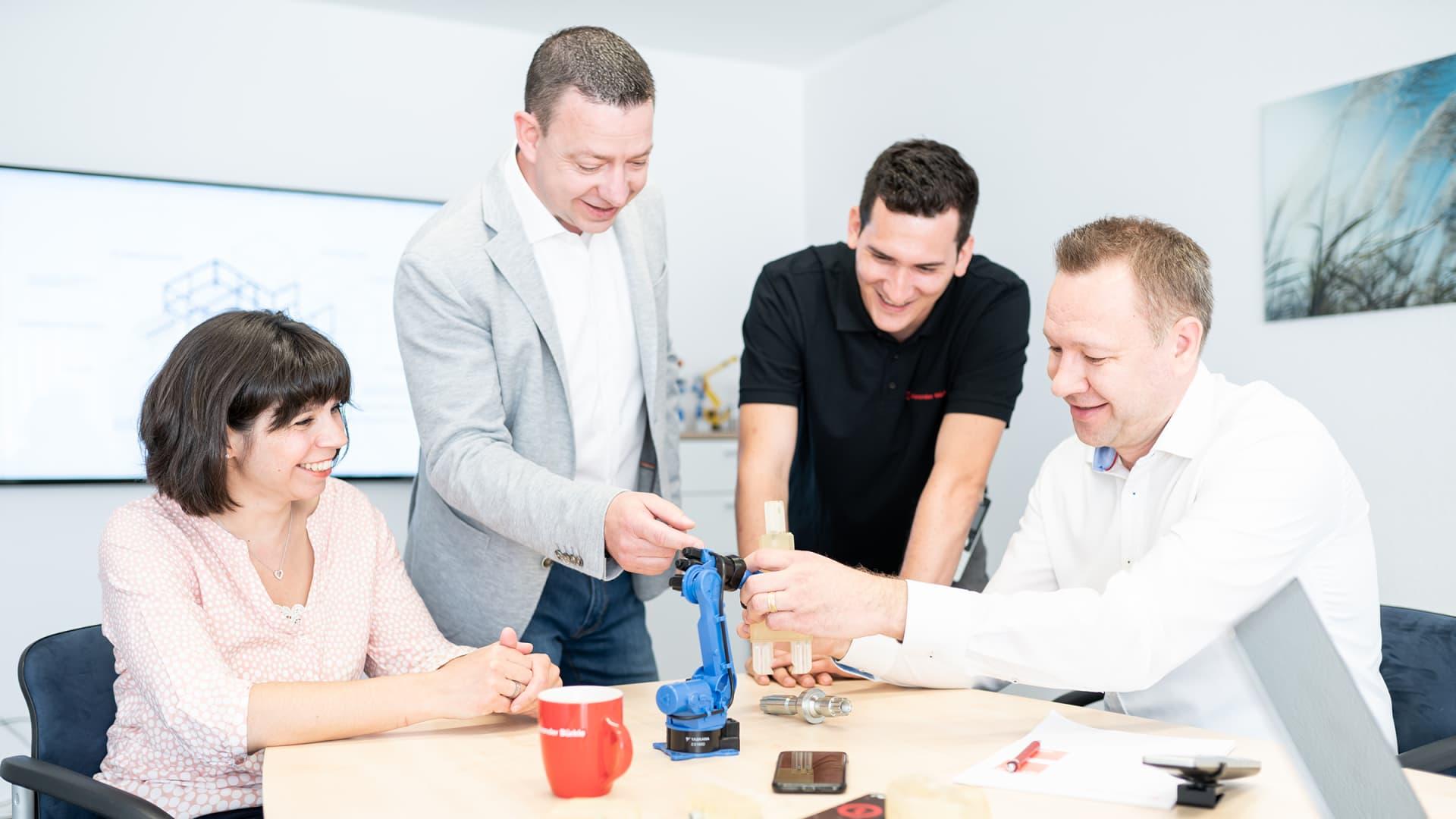 Über uns - Alexander Bürkle robotic solutions