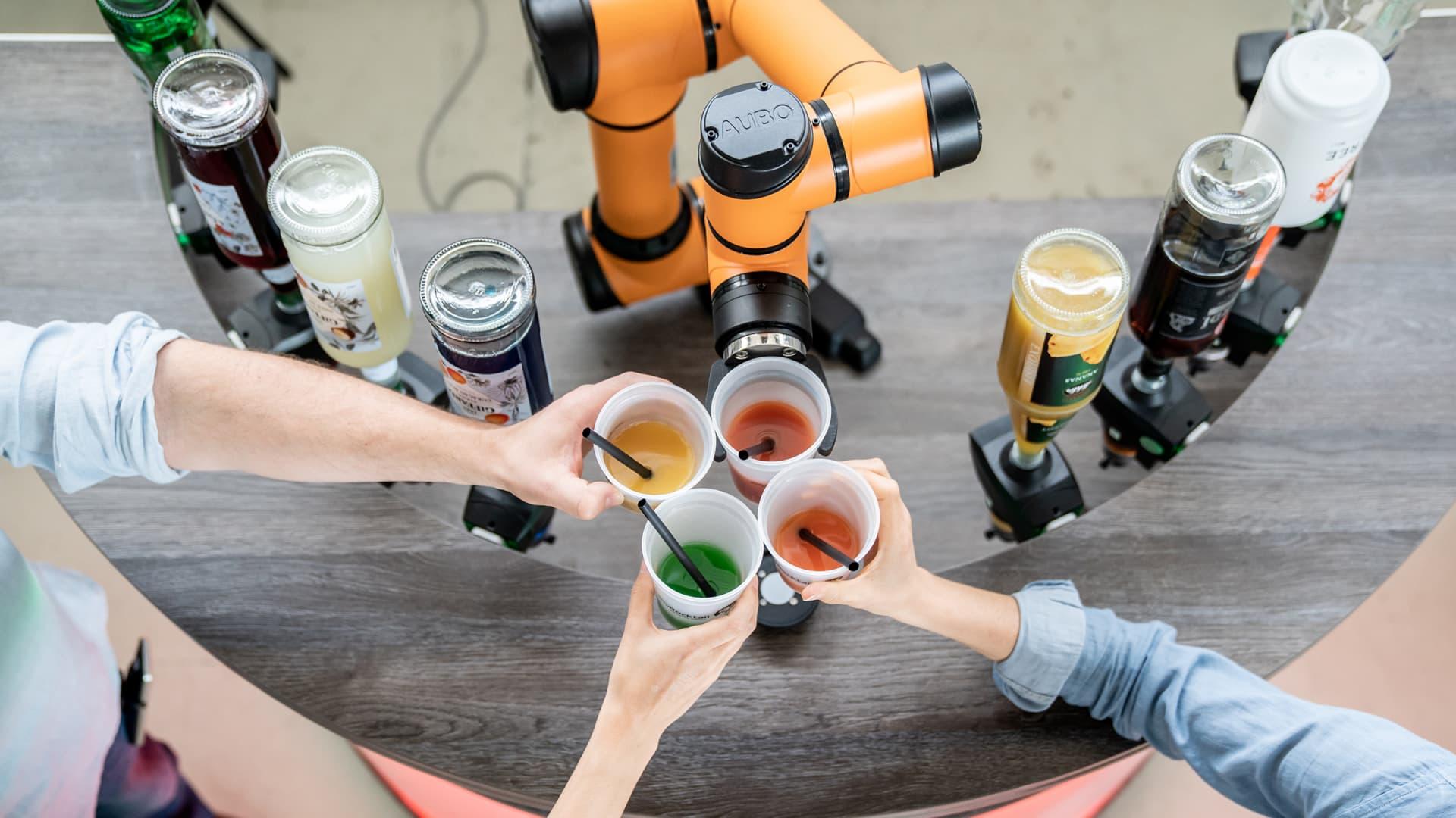 myRocktail - Alexander Bürkle robotic solutions