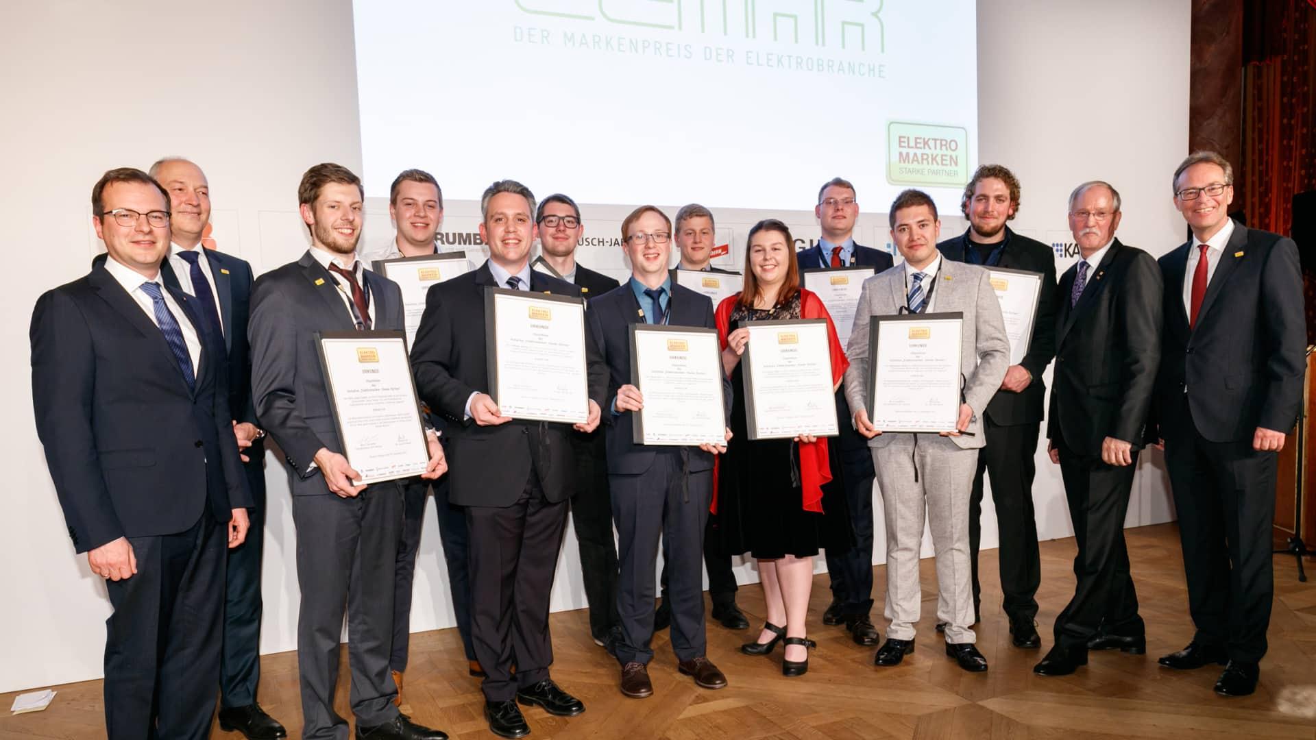 Elektromarken Meisterstipendiaten 2017