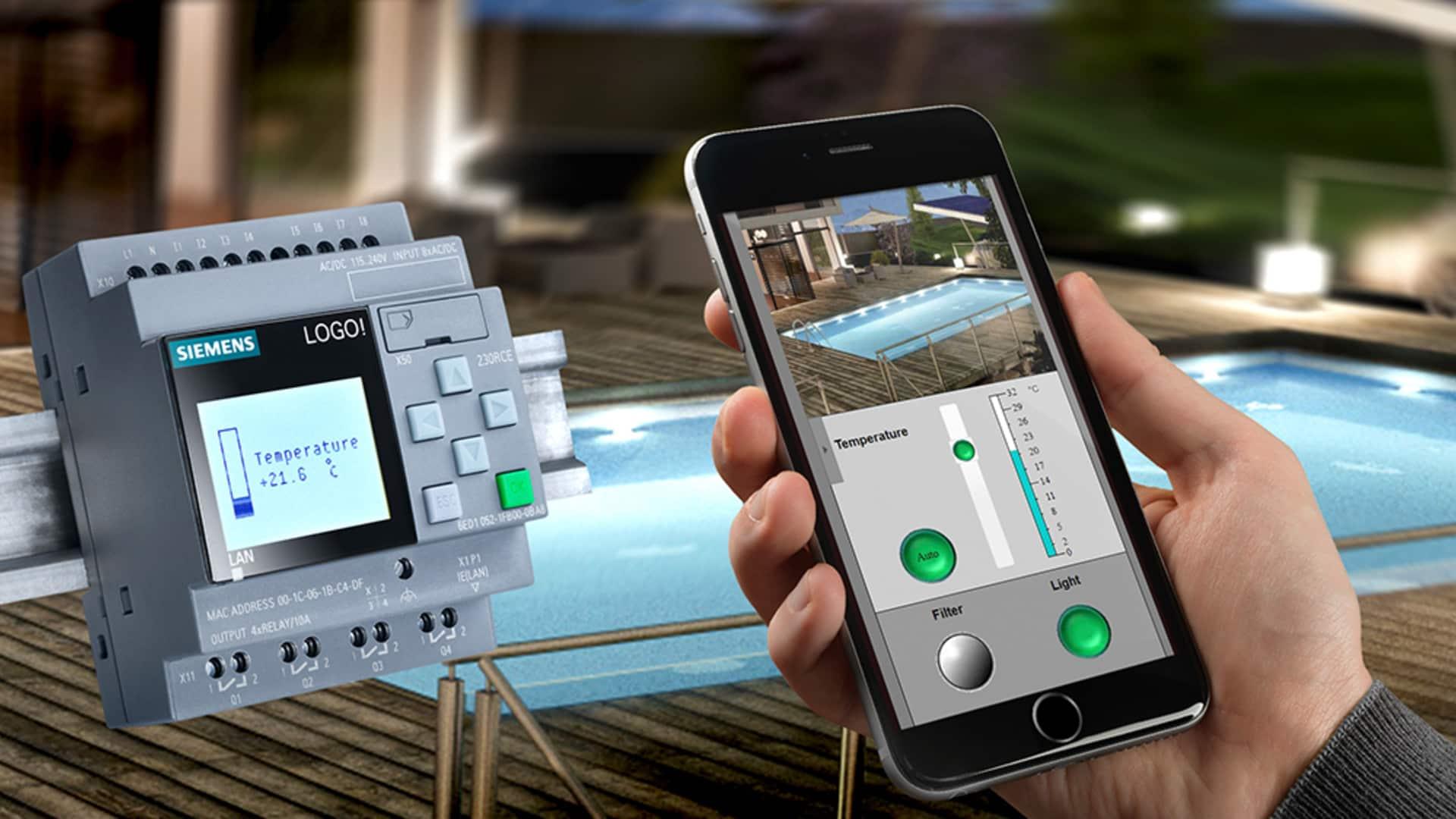 Siemens: Mit eigener Webseite LOGO!-Anwendungen steuern
