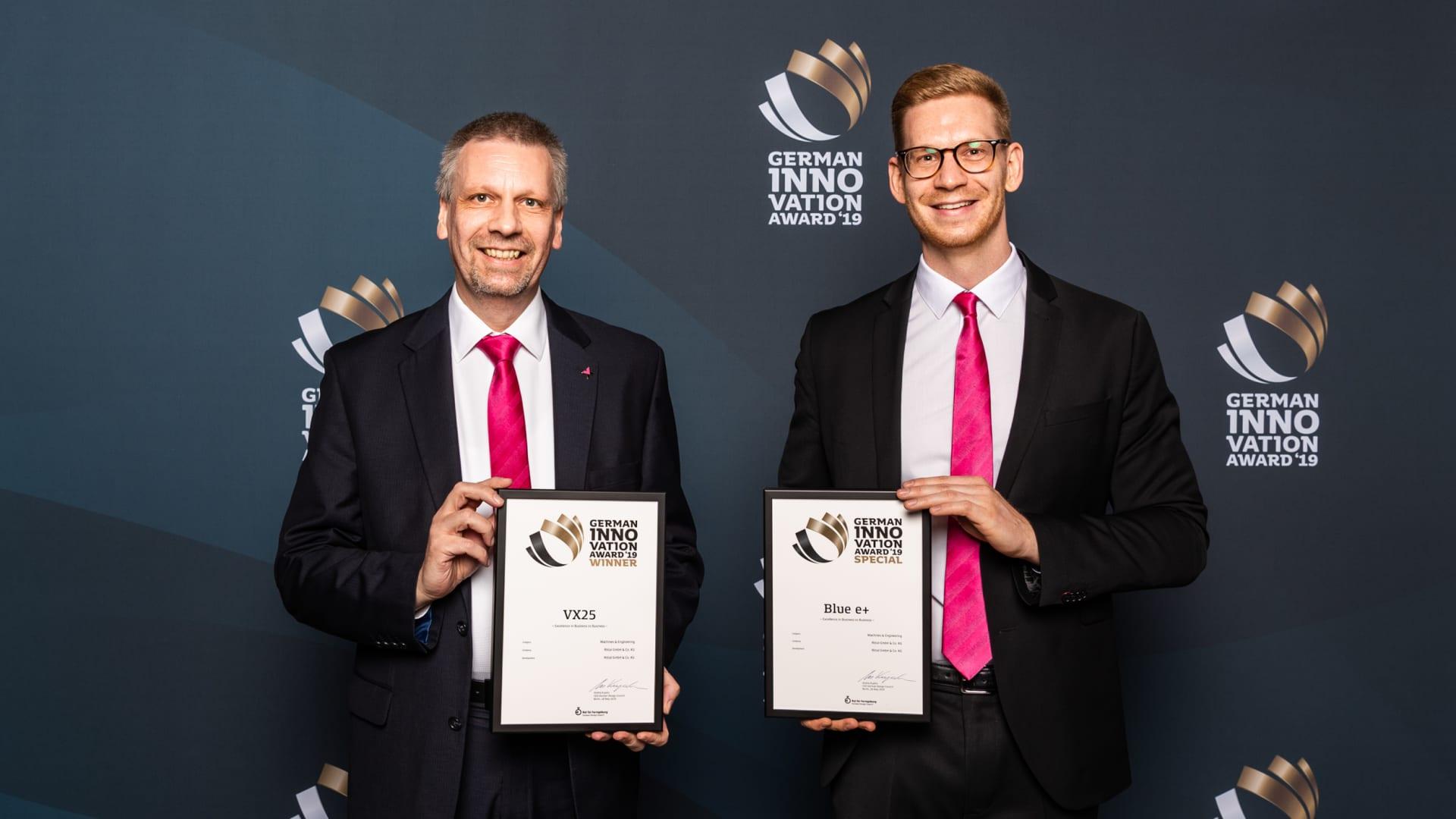 Rittal erhält German Innovation Award 2019