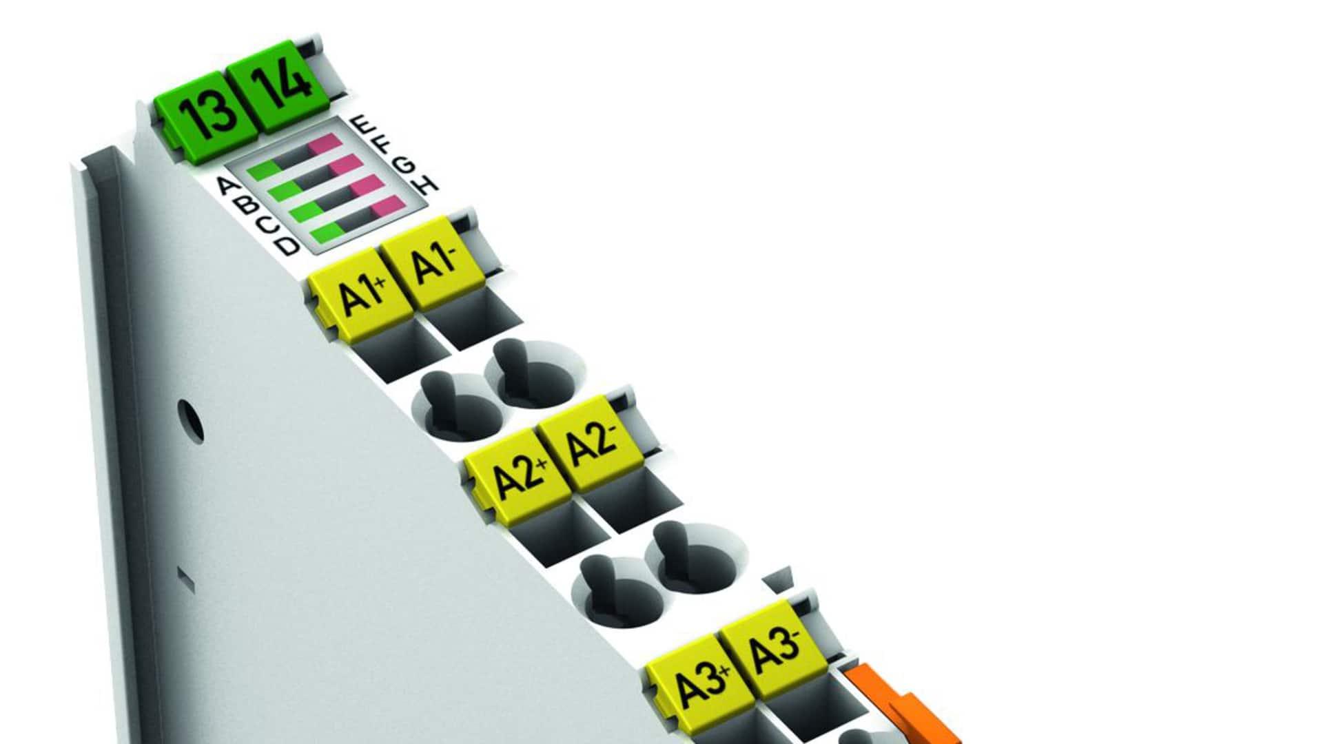 Wago: Analogmodul mit galvanisch getrennten Eingängen