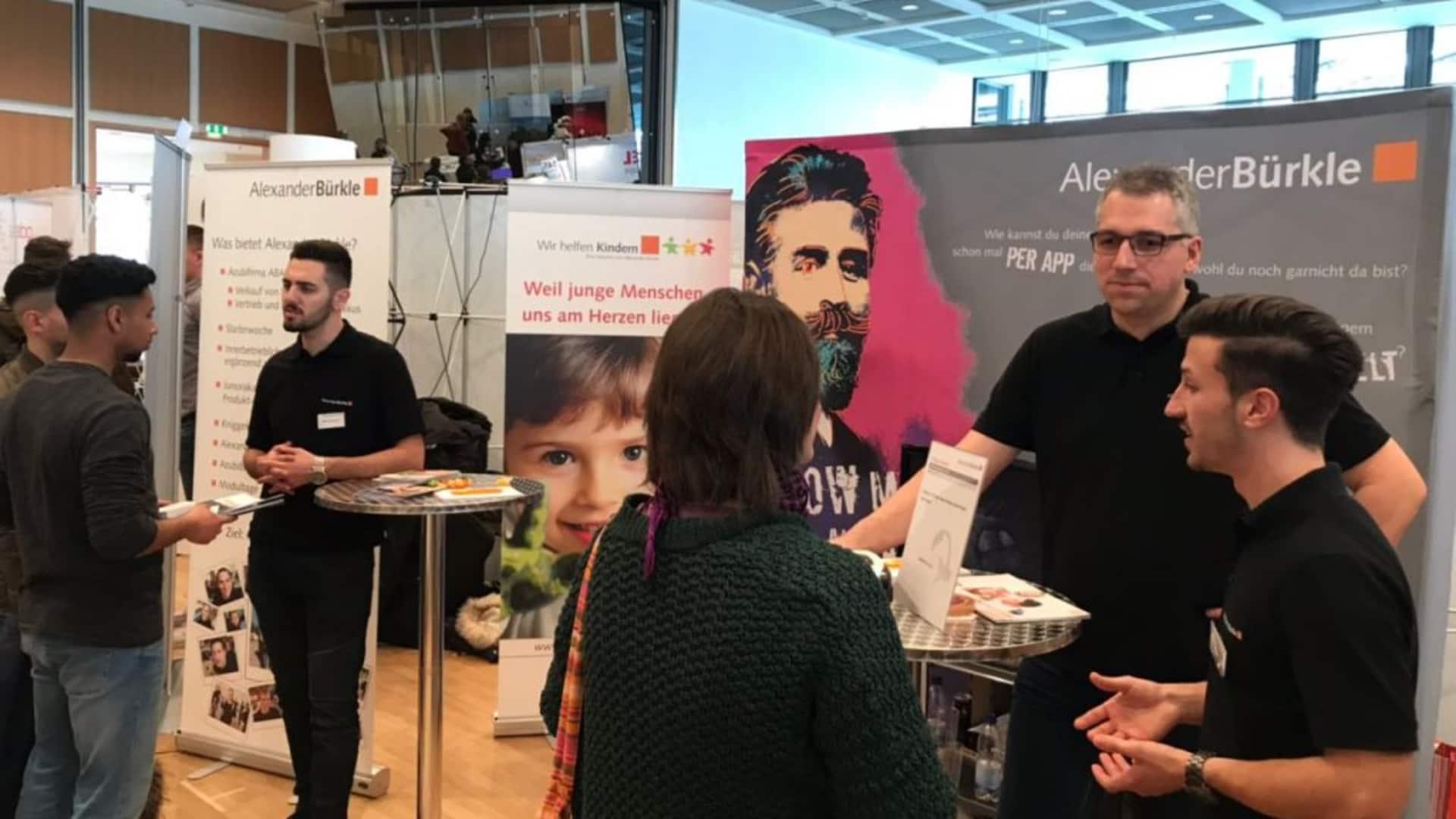 """Ausbildungsmesse """"Beruf aktuell"""" in Pforzheim"""