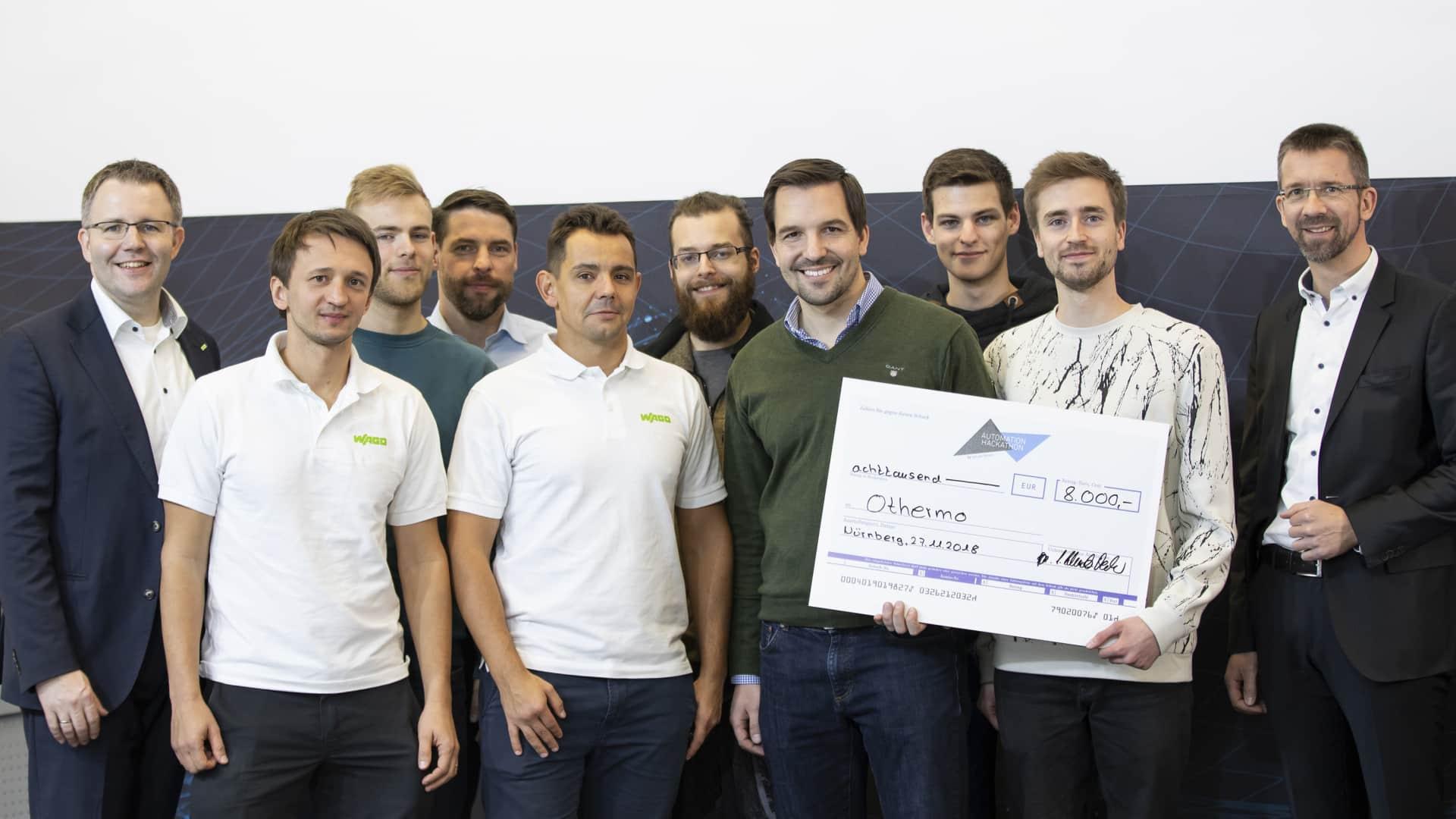 """WAGO: Mit othermo das """"Hackathon"""" gewonnen"""