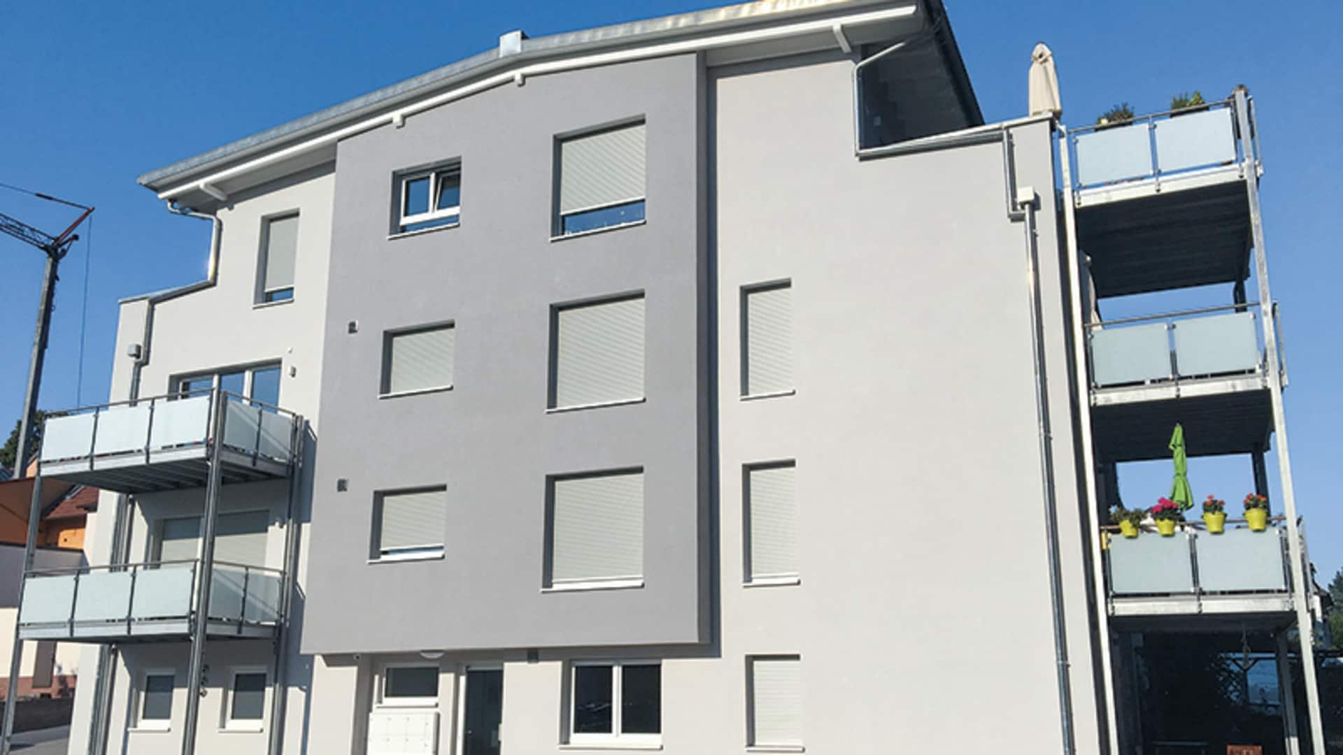 Wohnhaus schnell und intelligent geplant mit terminal