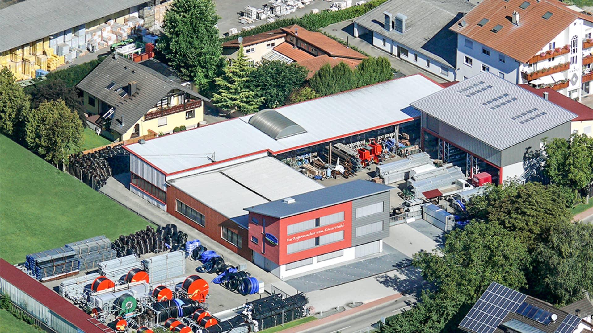 Ansicht von oben: Schillinger Beregnungsanlagen GmbH in Ihringen