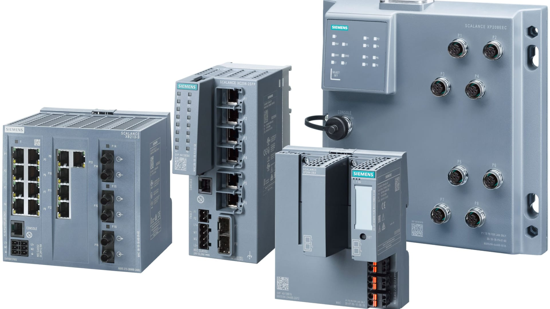 SCALANCE X-200 - Managed Industrial Ethernet Switches für das Feld