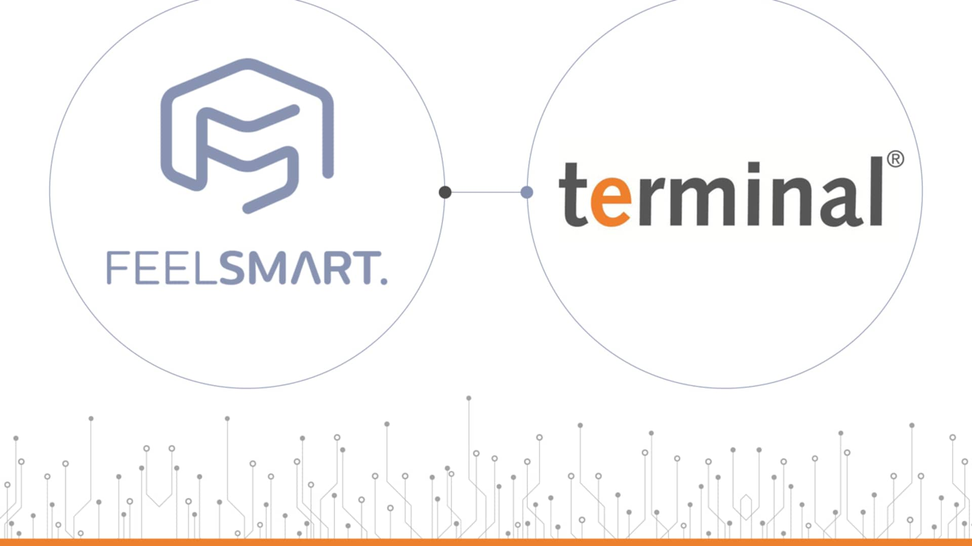 Kooperation terminal und FEELSMART.