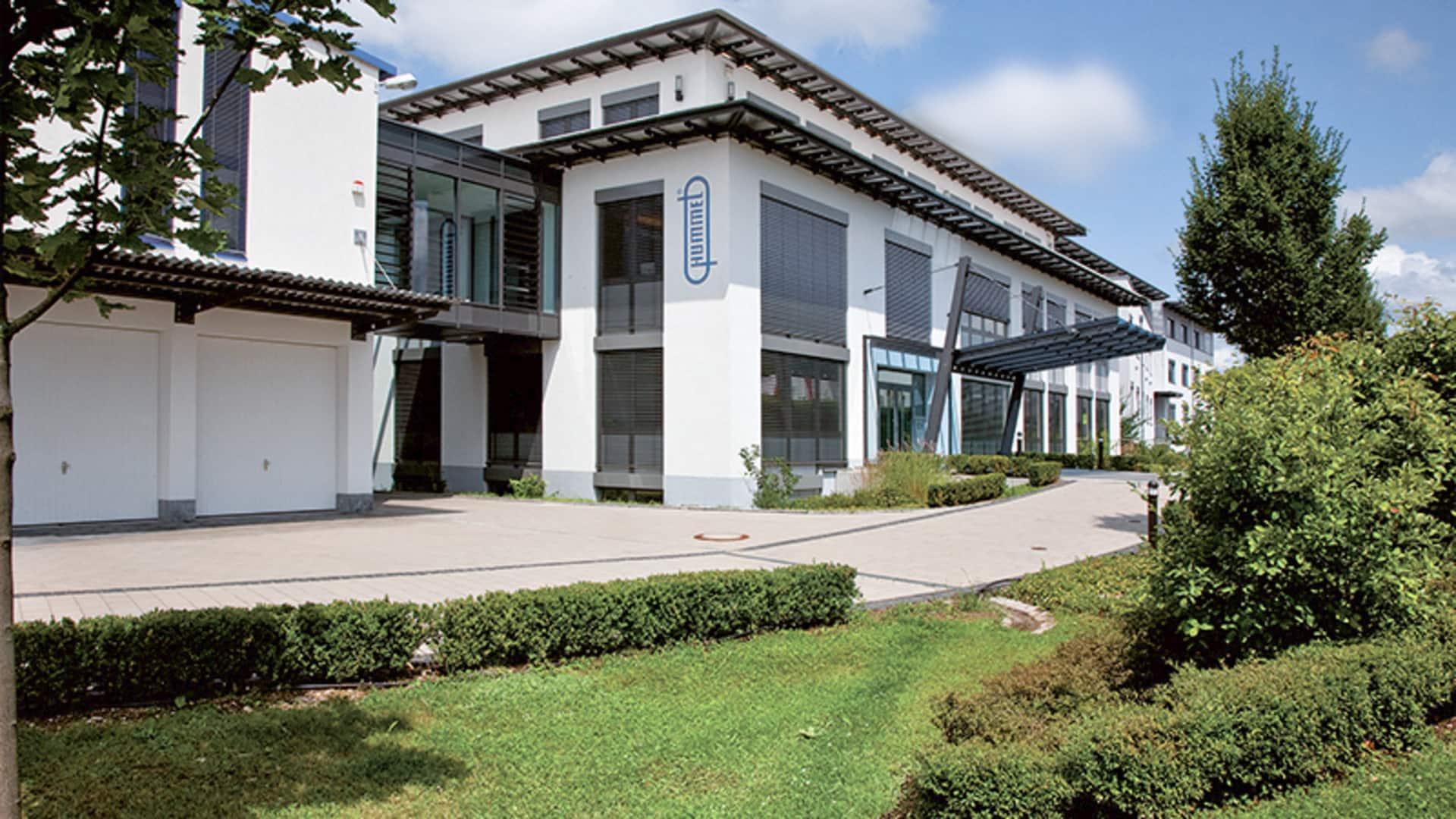 Firmengebäude der Hummel AG in Denzlingen