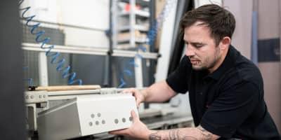 Gehäusebearbeitung - Alexander Bürkle Panel Solutions