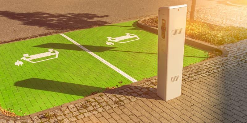 Ladestation für E-Autos