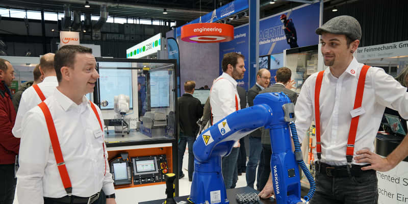 Robotics und 3D-Druck bei Alexander Bürkle