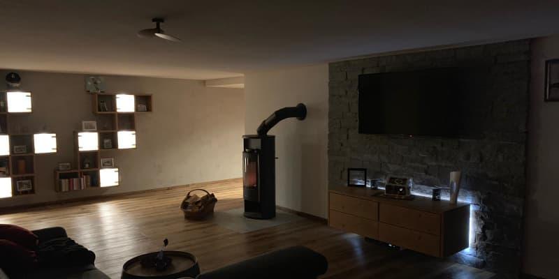 Wohnhausbeleuchtung