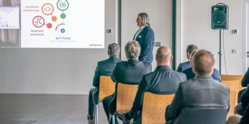 Christoph Kluge, Geschäftsführer der tepcon GmbH