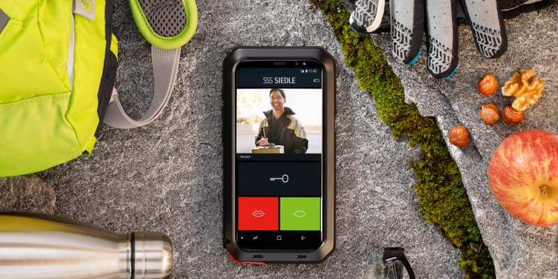 Siedle: Mobiler Türöffner für Android