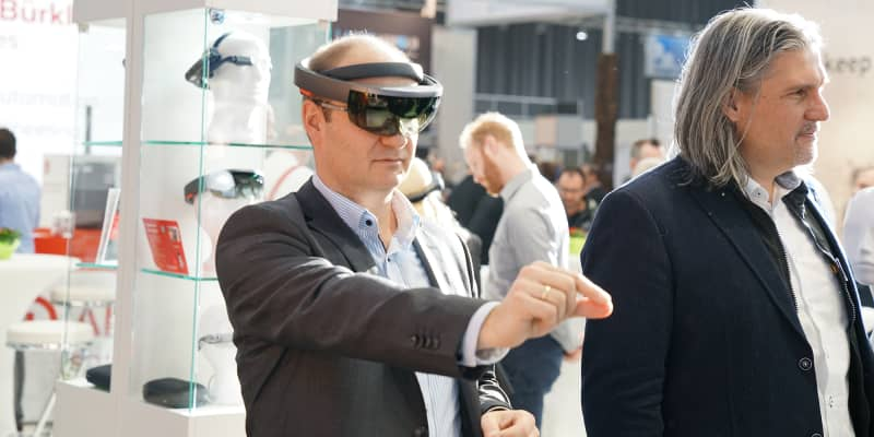 Augmented Reality bei Alexander Bürkle