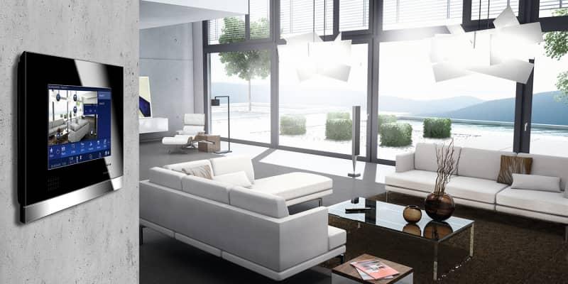 Interieur Wohnzimmer - Busch-ComfortPanel®