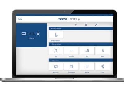 Theben: Das neue Smart Home-System LUXORliving