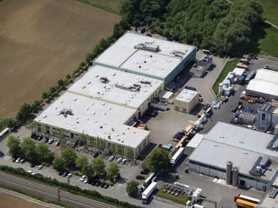 Luftbild von Klocke Standort Weingarten