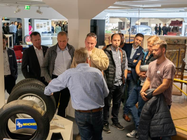 Rundgang bei Michelin in Karlsruhe beim ABdate now! 2018