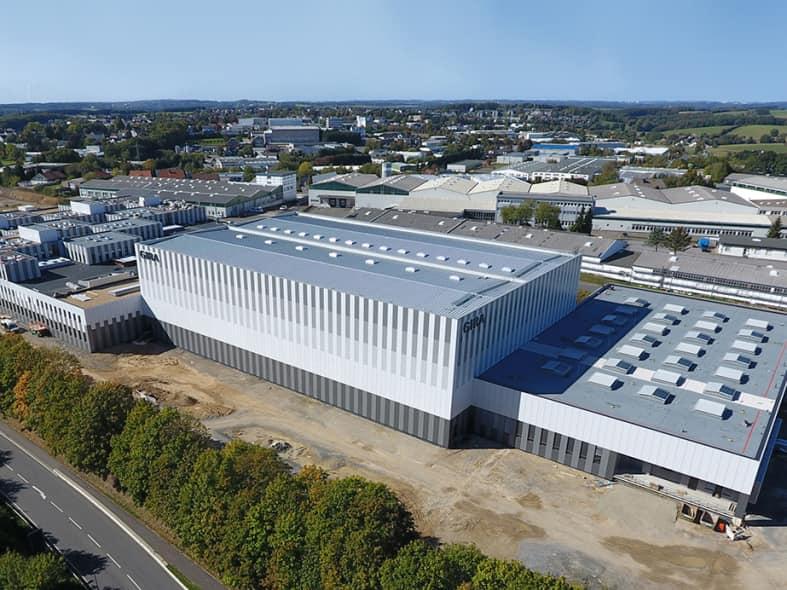 Neubau der Firma Gira