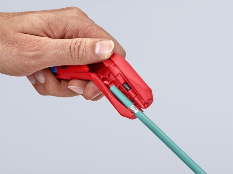 KNIPEX: ErgoStrip jetzt auch für Linkshänder