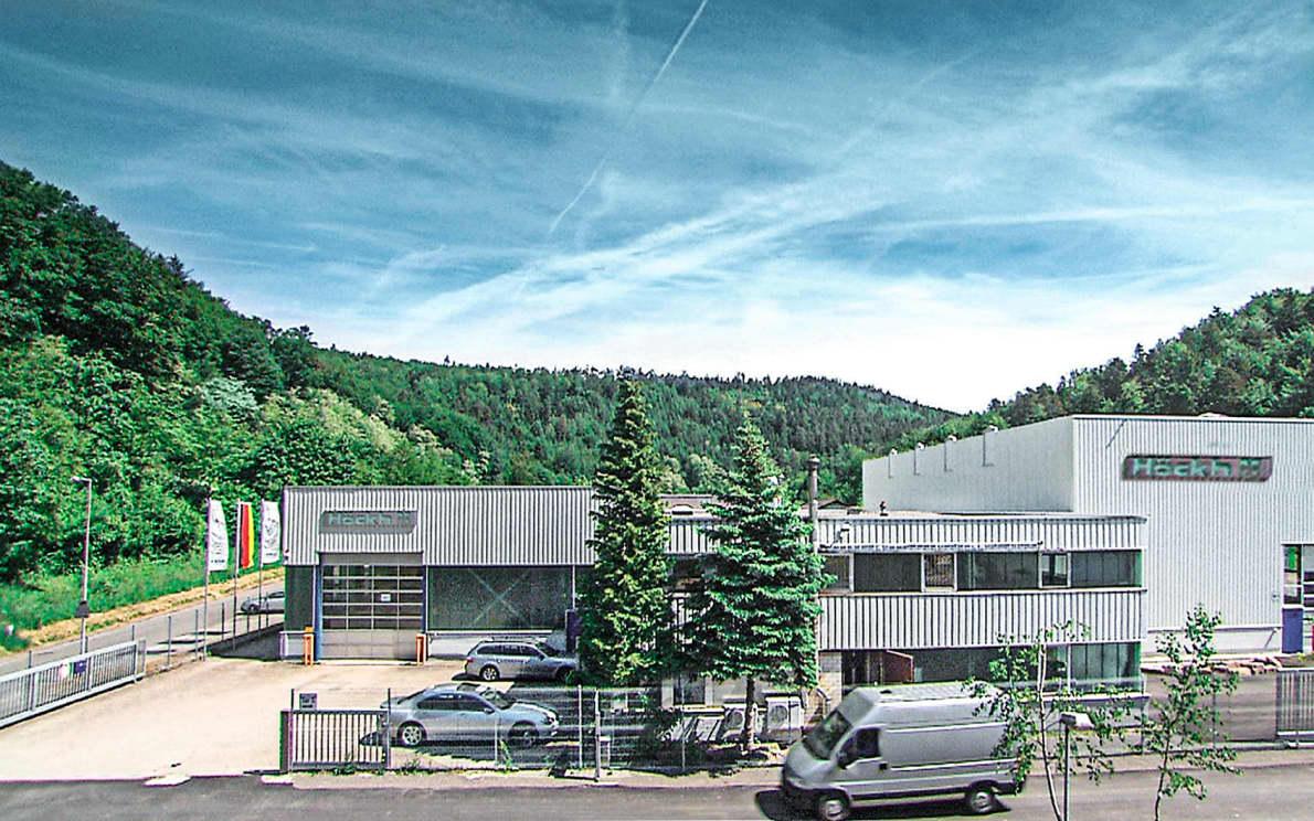 Die Außenansicht der Firma Höckh Metall-Reinigungsanlagen GmbH