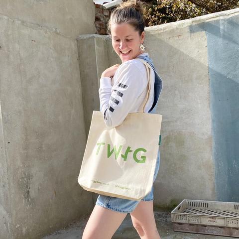 Twig Tote Bag
