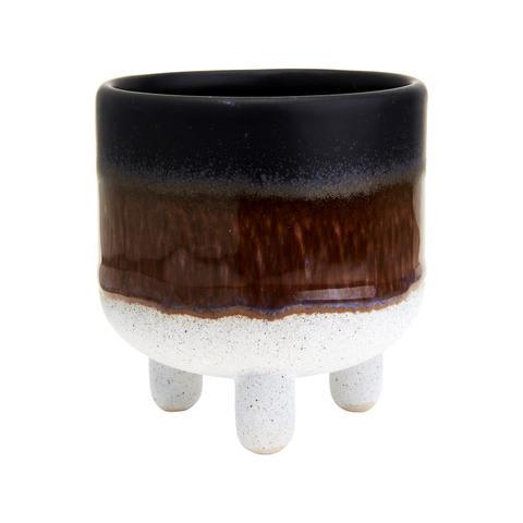 Ceramic Glazed Mini Pot