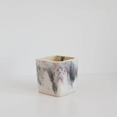 Twig Plants and Pots - The Tempest concrete indoor plant pot