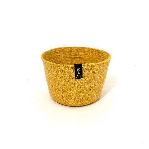 Naturally Dyed Cotton Pot - Leo