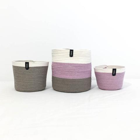 Twig Plants and Pots - Neapolitan concrete indoor plant pot