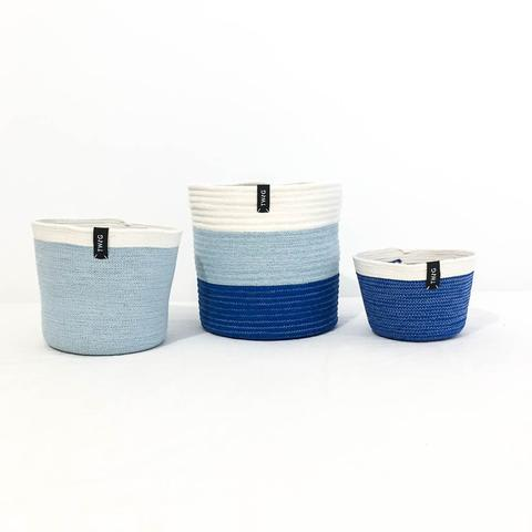 Cotton Pot - Marine