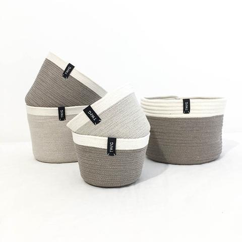 Twig Plants and Pots - Custom Made Pot concrete indoor plant pot