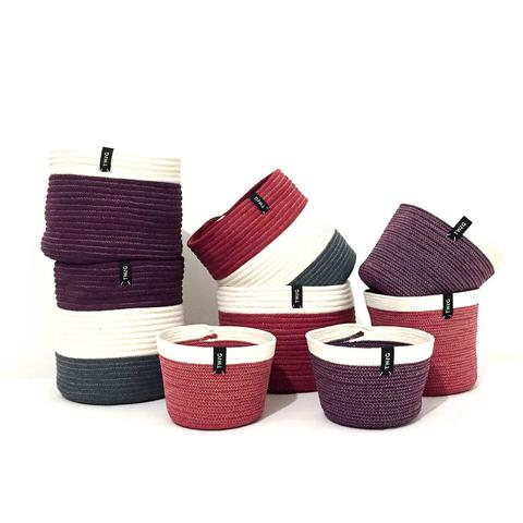 Cotton Pot - Plum